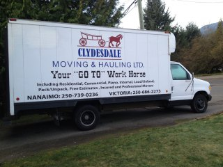 Clydesdale Moving & Hauling Ltd.